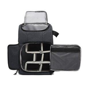 Image 2 - Bolsa de foto de cámara material impermeable y gran capacidad, la mochila es adecuada para exteriores o bolsa de lente de viaje bolsa de trípode
