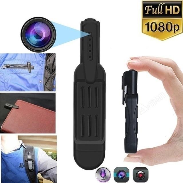 1080P HD  Hidden Spy Mini Pocket Pen Camera Portable Body Video Recorder DVR Conference Small Camera High Definition Security Ca