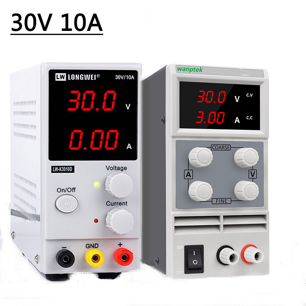 New Longwei <font><b>DC</b></font> Switching Adjustable Power <font><b>Supply</b></font> Laboratory 30V 10A Bench Source Digital Current Stabilizer <font><b>30</b></font> <font><b>V</b></font> image
