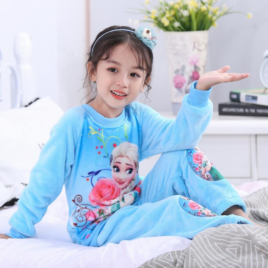 Новинка года; зимняя детская флисовая Пижама; теплая фланелевая одежда для сна; домашняя одежда для девочек из кораллового флиса; детская пижама; домашняя одежда; Пижама для мальчиков - Цвет: model 21