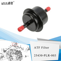 Жидкий фильтр ZUK с автоматической передачей для HONDA CIVIC ACCORD CR-Z Insight CRV Element FIT CITY JADE RDX MDX OEM: 25430-PLR-003