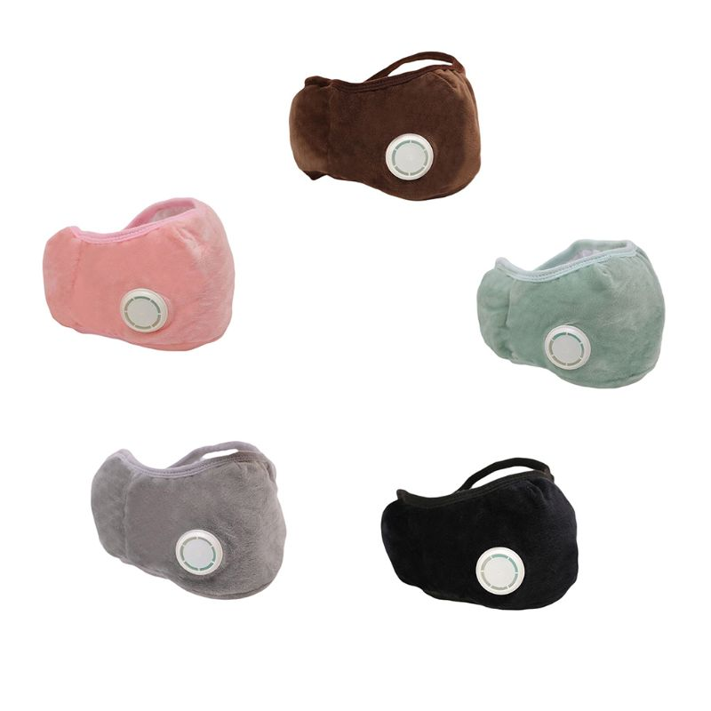Multi-function Warm Adults Mask Autumn Winter Riding Warmth Cold Dustproof Masks With Breathing Valve