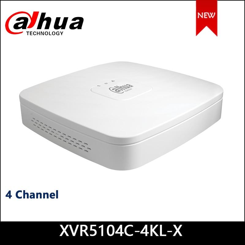 Dahua XVR XVR5104C-4KL-X 4 Channel Penta-brid 4K Smart 1U Digital Video Recorder Supports HDCVI/AHD/TVI/CVBS/IP Video Inputs