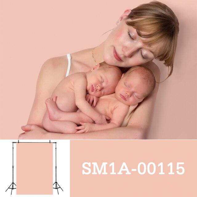 Allenjoy fotografia pano de fundo recém nascido cor sólida retrato do bebê aniversário tiro tamanho pequeno photocall photo studio prop
