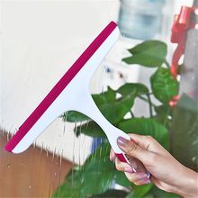 Soft rubber window glass cleaning wiper brush Bathroom  squeegee Washing scraping car cleaner household helper tool