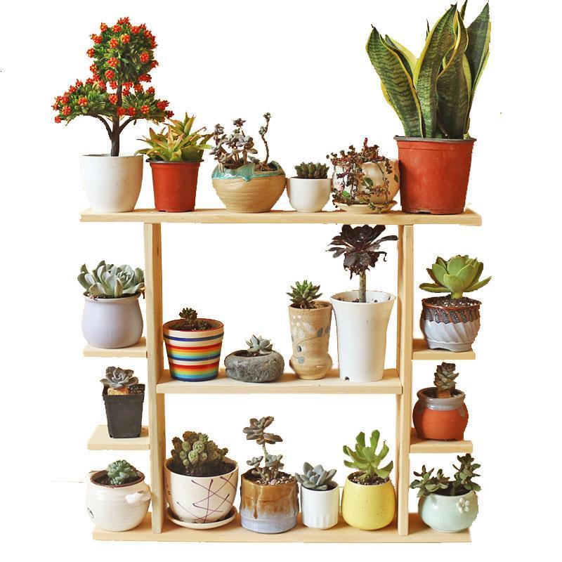 Soporte Interior Stojaki Na Kwiaty Indoor Pot Balkon Estanteria Para Plantas Rack Outdoor Stand Balcony Flower Plant Shelf