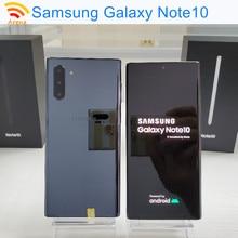 Original samsung galaxy note10 nota 10 n970u1/n970u/n970f 90% novo 6.3