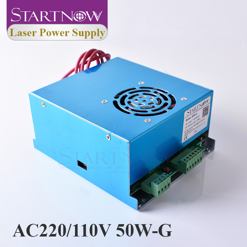 50W-G MYJG-50 45W 50W CO2 Laser Power Supply 110V 220V Universal PSU Co2 Laser Source For Laser Cutting Engraving Machine