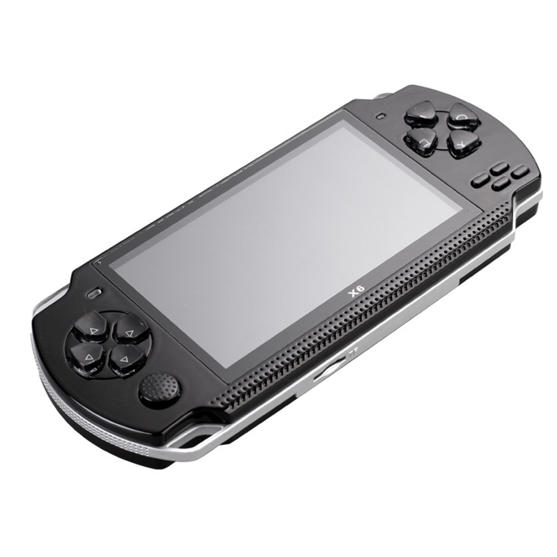 Powkiddy 4.3 Inch Retro Handheld Game Console 8Gb Portable Video Game Built-In Free Classic Games Support Photo Recording Txt Mp