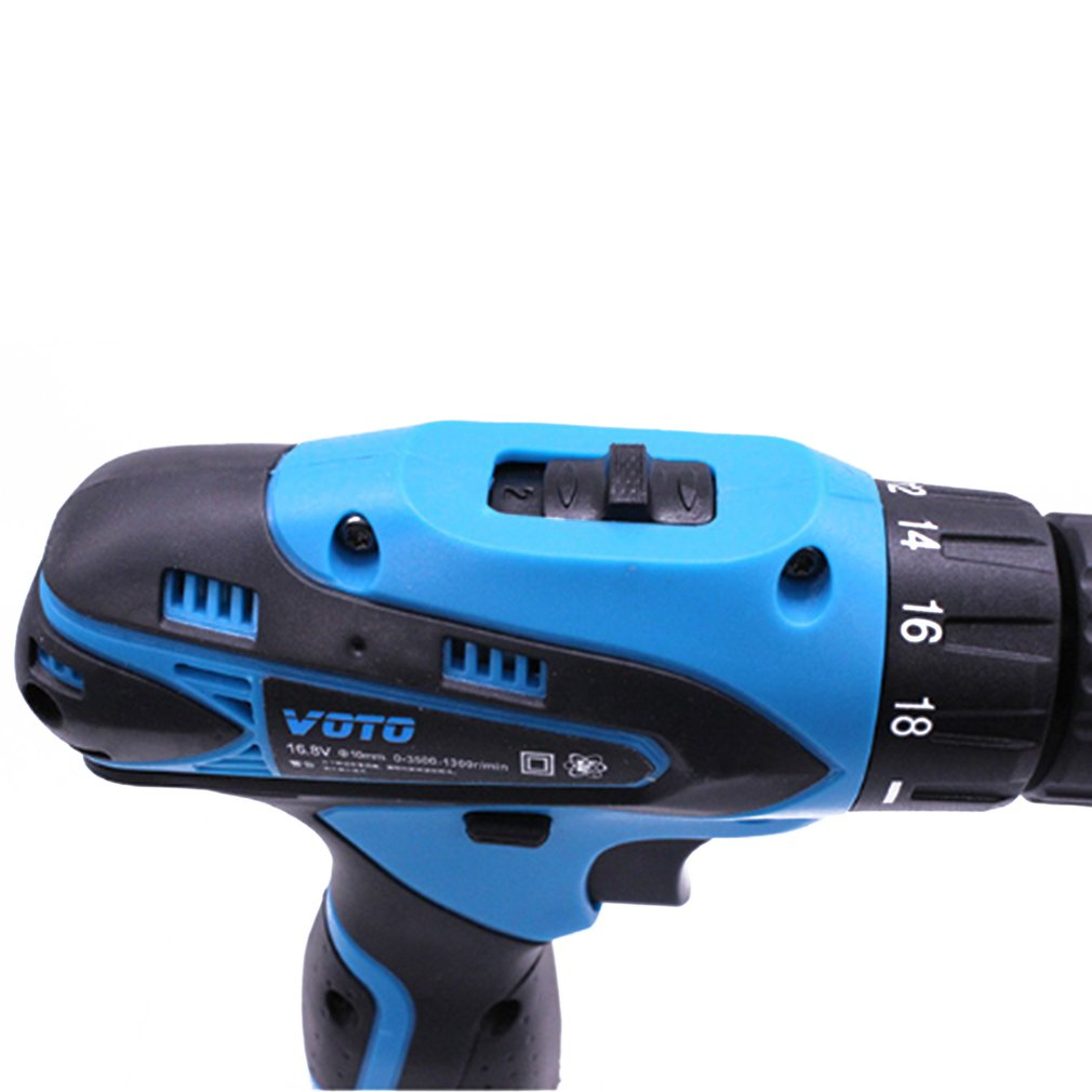 Multifunctional Electric Hand Drill Household Cordless Screwdriver Drill Rechargeable Power Tools Screwdriver Pakistan
