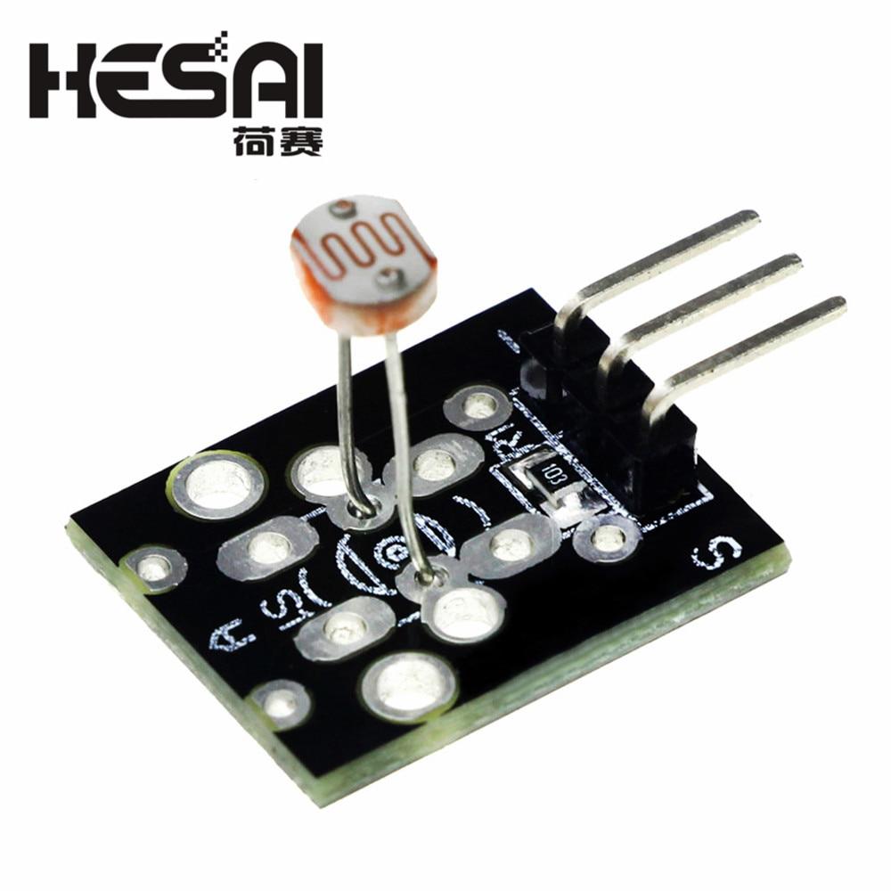 Светильник с 3-контактным оптическим чувствительным датчиком, светильник с фоточувствительным датчиком обнаружения для arduino, DIY Kit KY018