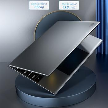 KUU YOBOOK All Metal 13.5 Inch 3K IPS Screen Intel Pentium Quad Core Laptop Backlit Keyboard Windows 10 Student Office Notebook 5