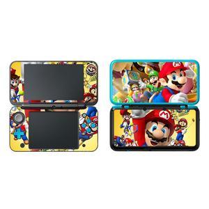 Image 4 - Super Mario Película protectora decorativa para Nintendo 2, 2DS, LL, XL, pegatina de piel de vinilo, etiqueta de protección