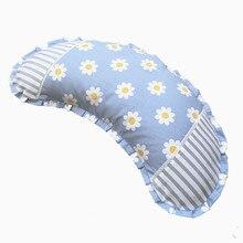 Moon – Oreiller en pur coton pour enfants, ergonomique, simple colonne vertébrale, Massage, soins de santé, Nuage, produits ménagers, EF50PW