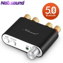 2020 האחרונה Nobsound TPA3116 Bluetooth 5.0 מיני דיגיטלי מגבר סטריאו HiFi בית אודיו כוח Amp אודיו מקלט USB DAC 50W × 2
