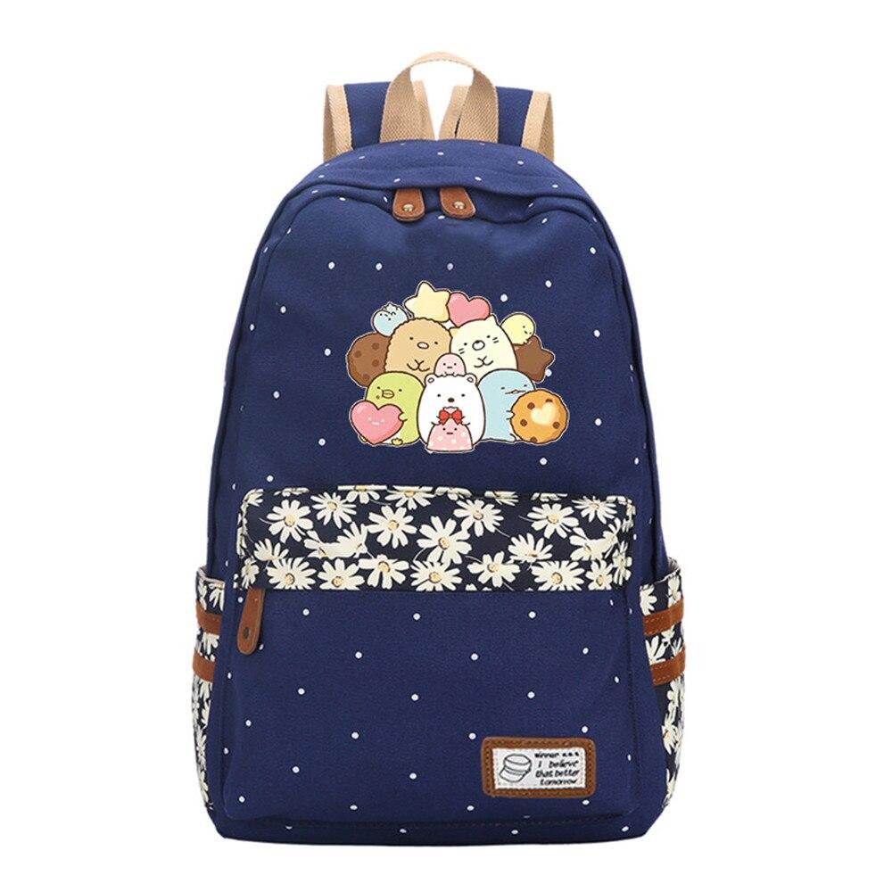 Japanese  San-X Sumikko Backpack Gurashi Toys Anime Corner Bio Handheld Biological Shoulder Bags Children Schoolbag