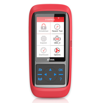 XTOOL X100 Pro OBD2 Auto Key Programmer/Mileage Adjustment with EEPROM Adapter