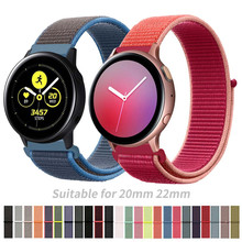 20mm 22mm Sport Nylon Strap for Samsung Galaxy Watch Active