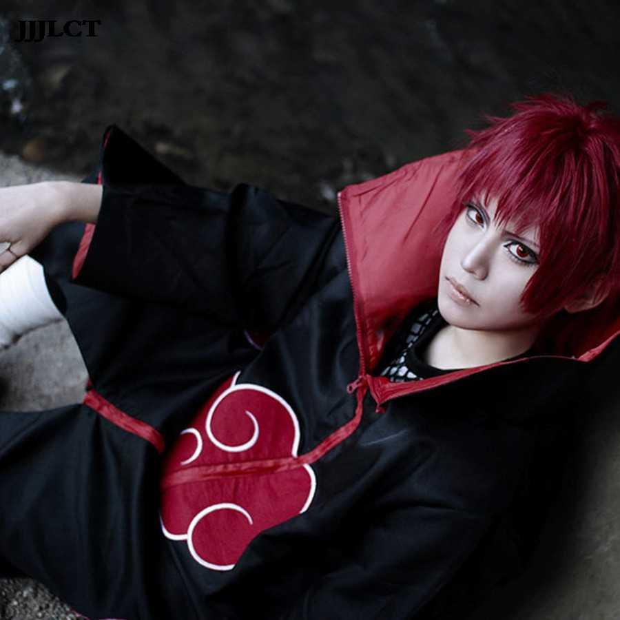 Cosplay traje Naruto cosplay del traje rojo de manto de Luna águila/serpiente