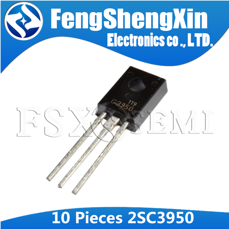 10pcs 2SC3950 TO-126 C3950 TO-126F High-Definition CRT Display Video Output Driver IC image