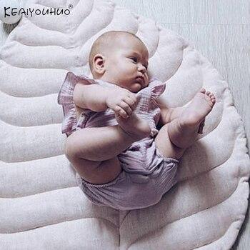 Ropa informal de verano 2020, ropa para niñas pequeñas, ropa niños monos, pelele sin mangas para niños recién nacidos Creeper para niños de 0 a 3 años