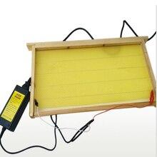 Dispositivo de aquecimento elétrico de apicultura, equipamento de instalação de colmeia de abelha 240v, 1 peça