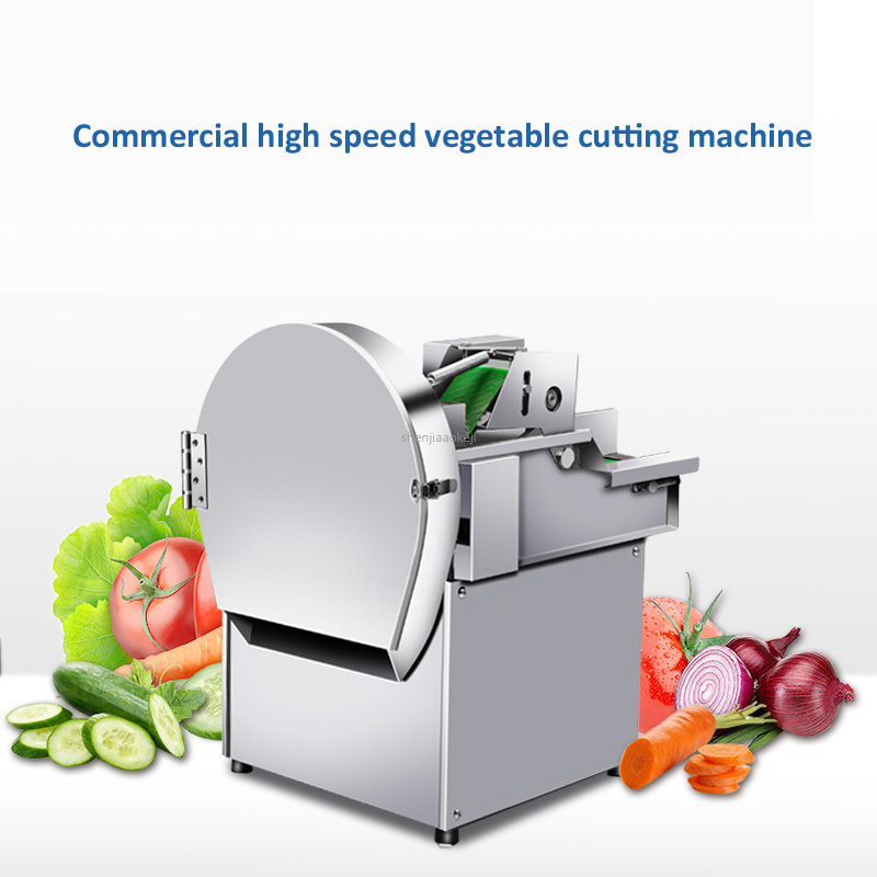 Vegetable Cutter Commercial Multi-function Automatic Kitchen Canteen Small Fruit Electric Cutting Machine