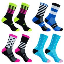 Pro Team Cycling Socks Professional MTB Sports Bike Socks High Quality Running Socks Basketball Socks Many Colors cheap TIMUBIKE CN(Origin) Knee-High