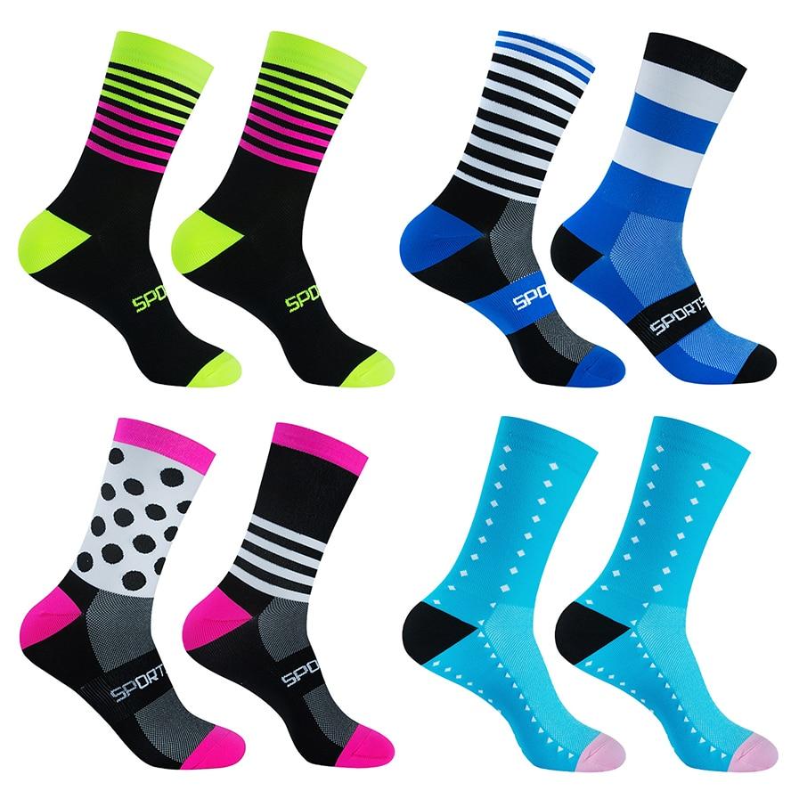 Pro Team Cycling Socks Professional MTB Sports Bike Socks High Quality Running Socks Basketball Socks Many Colors