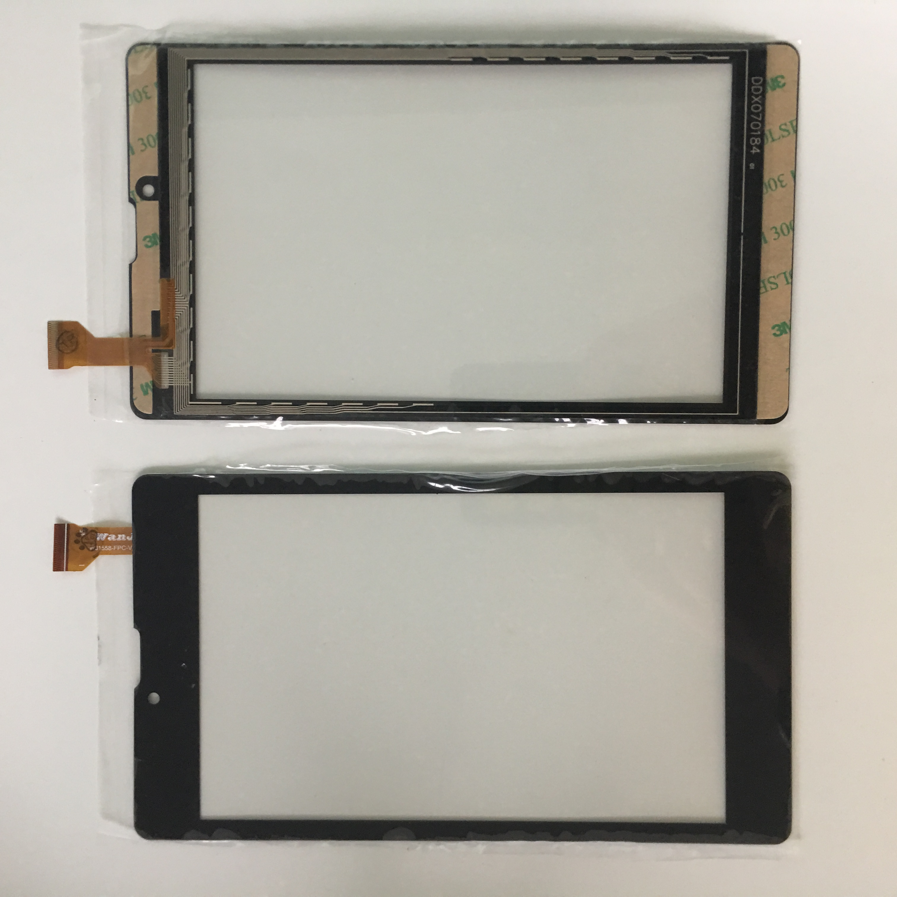 7inch Touchscreen Digma Plane <font><b>7700</b></font> 4G sensor PS1127PL front glass 189*107mm touch screen WJ1588-FPC V2.0 black image