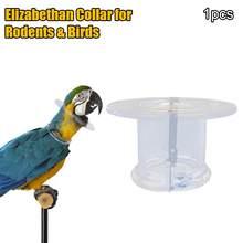 Collier de protection pour perroquet, perle d'oiseau, Anti-plume, anneau de cueillette, Anti-plumage, colliers anti-agrippants, collier élixabethane pour rongeurs et Bi