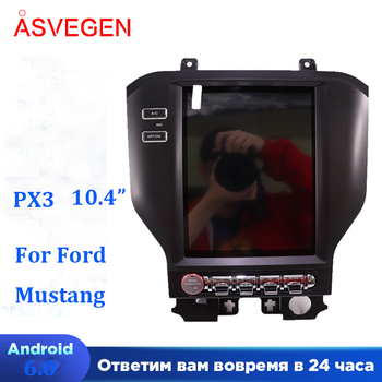 """PX6 10.4"""" Vertical Screen For Ford Mustang 2015-2018 Android 8.1 Car Radio GPS 4G WIFI BT Dvd Player Stereo Navi Auto Multimedia"""
