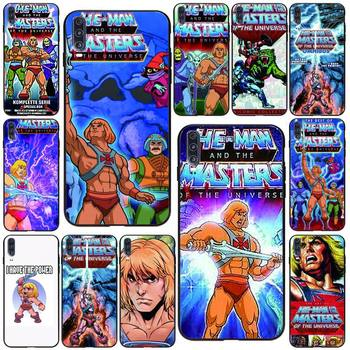 HE-MAN And The Masters Of The Universe Phone Case Black For Huawei P10/20/30/40/20Pro/30Pro/30Lite/40Pro NOVA3/3E/3i/7SE Cases image