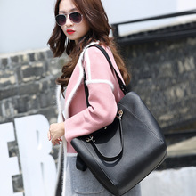 Fashion Lychee Pattern Women's Bag Female Shoulder Bag Multi-color Tote Bag Casual PU bags luxury handbags women bags designer ladylike women s tote bag with animal pattern and color block design