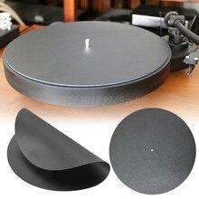 Plateau tournant en vinyle antistatique, diamètre 290mm, tapis en cuir véritable souple antistatique