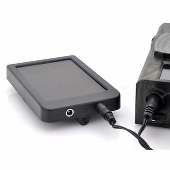 Outdoor Solar Panel Charger US/EU Plug 1500mah 9V Chargers For Suntek Hunting Trail Camera HC801 HC900 HC700 HC550 HC300 6