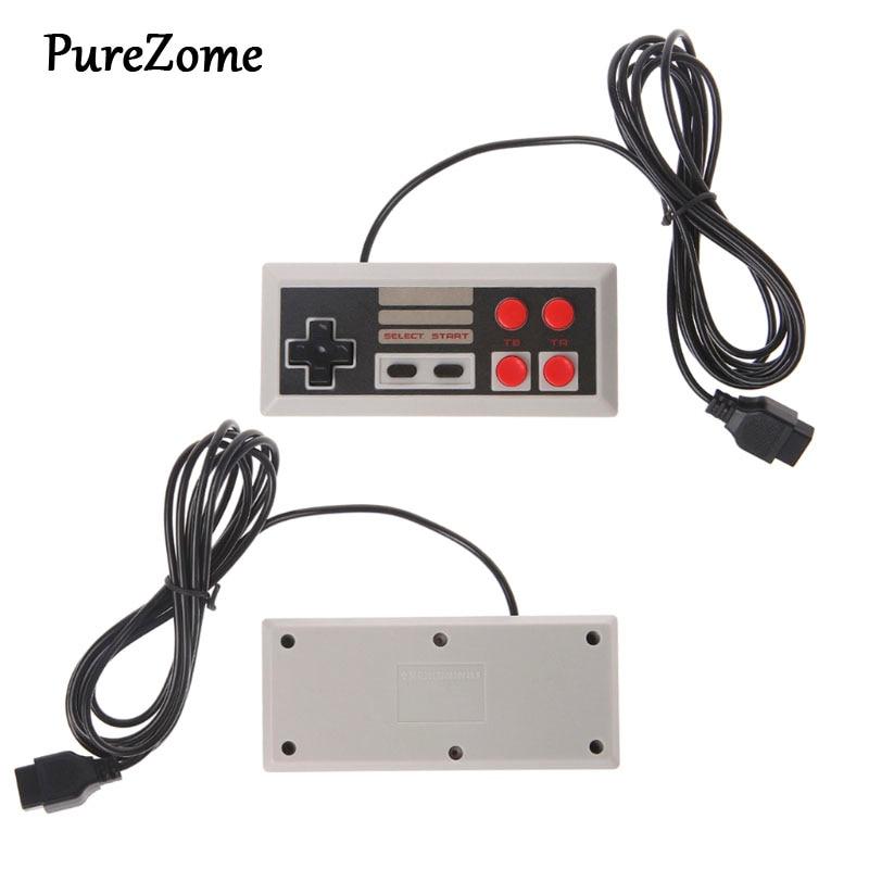 4 botão controlador gamepad para coolbaby tv handheld jogo de vídeo 9 pinos console