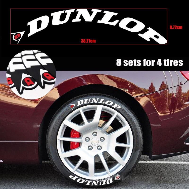 Letras de borracha logotipo personalizado etiqueta do pneu 1 polegada altura adesivos de carro decalques 3d etiquetas auto motocicleta diy etiqueta letras
