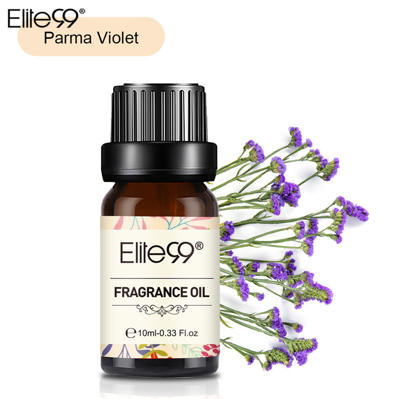 Elite99 Parma Violet Fragrance Oil 10ML Flower Fruit Pure Essential Oil Relax Diffuser Lamp Air Fresh Massage Natural Relax