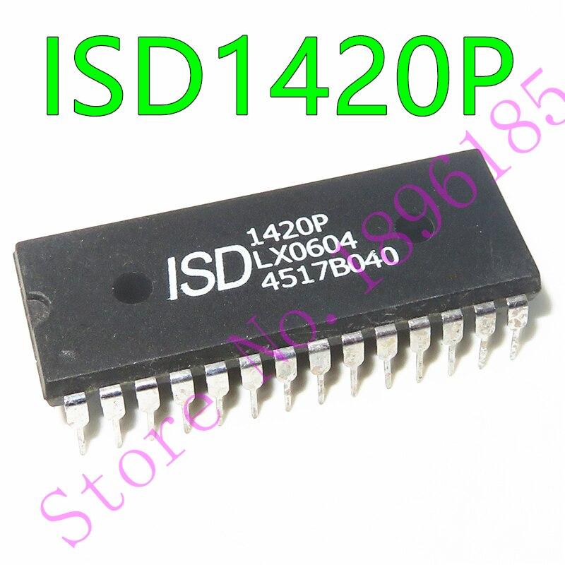 1 шт., ISD1420S 1420S ISD1420P 1420P DIP-28 устройства для голосовой записи/воспроизведения с одним чипом, 16-и 20-секундное время