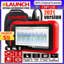 LAUNCH CRP123E OBD2 Scanner Tools For Engine ABS Airbag SRS Gearbox System Launch X431 CRP123E OBDII Diagnostic Tool Free Update