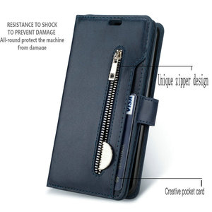 Image 3 - Luxury Zipper Flip Case Solid Leather for Funda Honor 20s Case Huawei Honor 20S Phone Case Card Slot Honor 20 S Wallet Cover