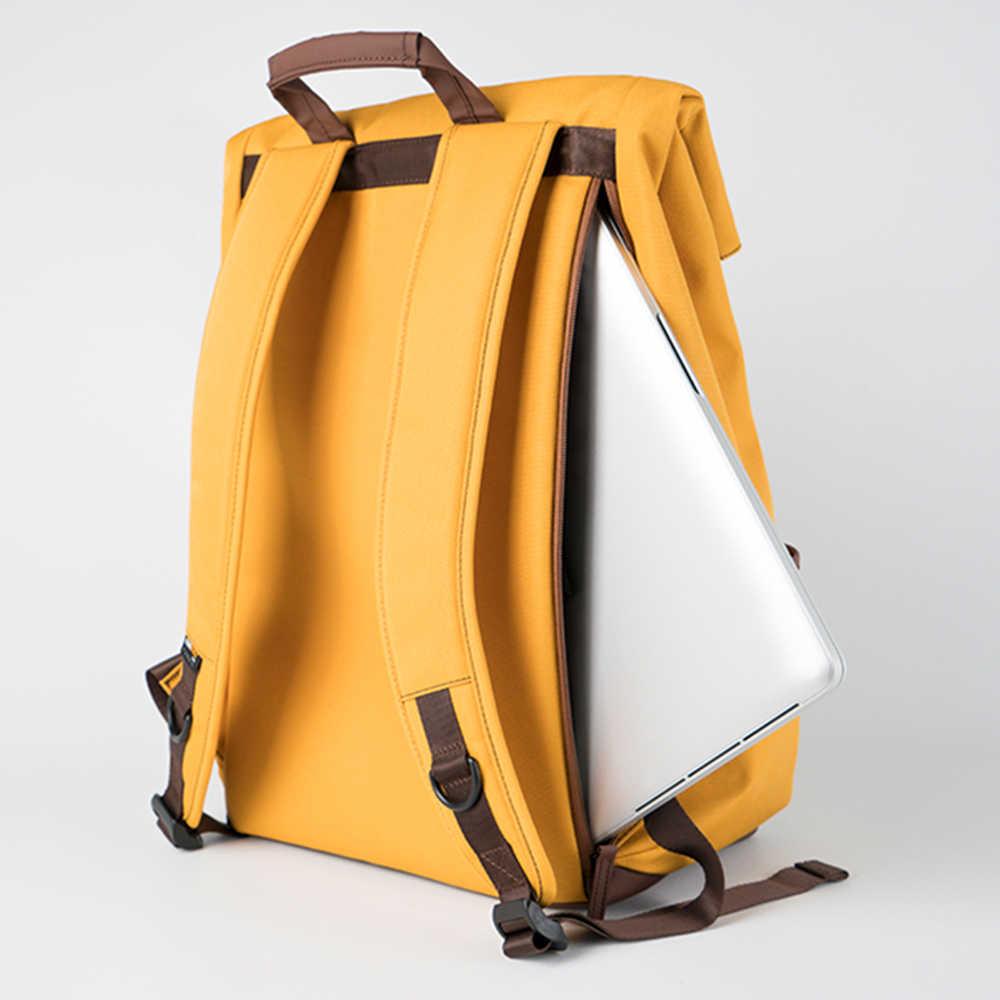 Ninetygo 90Fun College Remaja Ransel Laptop Fashion Leisure Tahan Air Bagpack Unisex Kasual Komputer Tas Sekolah 14/15.6 Inch