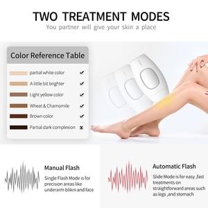 Image 4 - 600000 flash professionale permanente IPL epilatore laser di rimozione dei capelli elettrico photo donne indolore threading rimozione dei capelli macchina