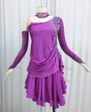 Vũ Điệu Latin Váy Trưởng Thành Chất Lượng Cao Giai Đoạn Tango Rumba Samba Trang Phục Nữ Latinh của Cuộc Thi Nhảy Đầm