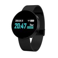 Z8 0.96 Inch TFT Color Screen Smart Bracelet IP67 Waterproof Steel Watch Strap Support Calls to Remind