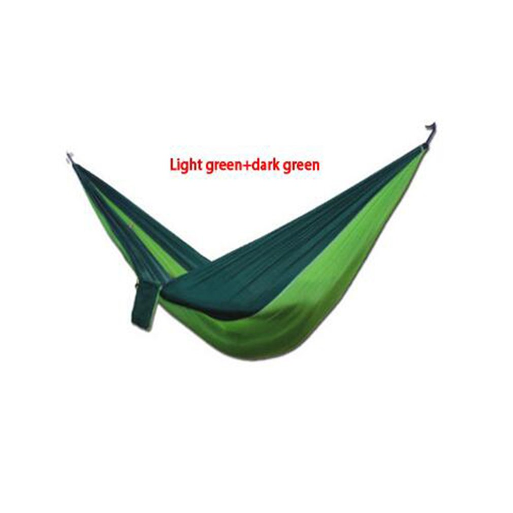 6 Colors 210t Nylon Parachute Cloth Hammock Double Outdoor Leisure Ultra Light Hammock