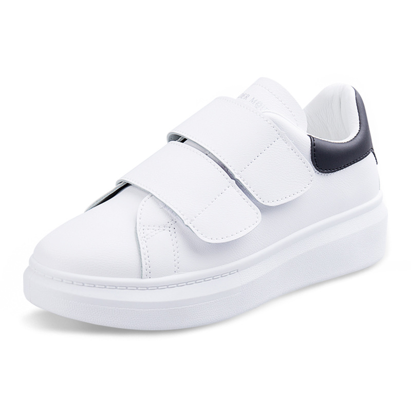 Women Sneakers Fashion Breathble Vulcanized Shoes Platform Casual White Tenis Feminino Zapatos De Mujer Pu Leather