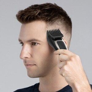 Image 4 - 2020 orijinal Youpin ENCHEN Sharp3S saç kesme hızlı şarj erkekler elektrikli kesme makinesi profesyonel düşük gürültü kuaför