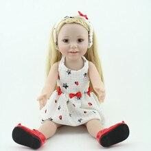 NPKDOLL American Baby Doll 18 inch Reborn Kids Lifelike Real